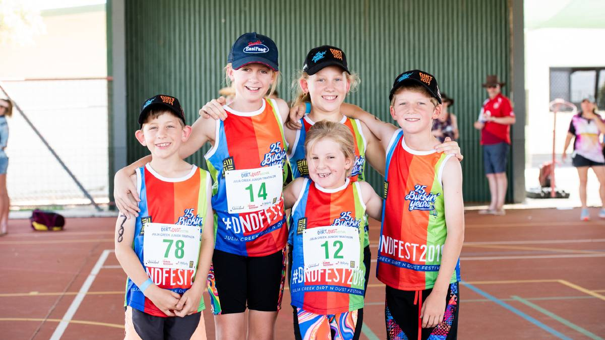 The Julia Creek Dirt N Dust Festival junior triathlon will now be held in Mount Isa on April 4. Photo supplied.
