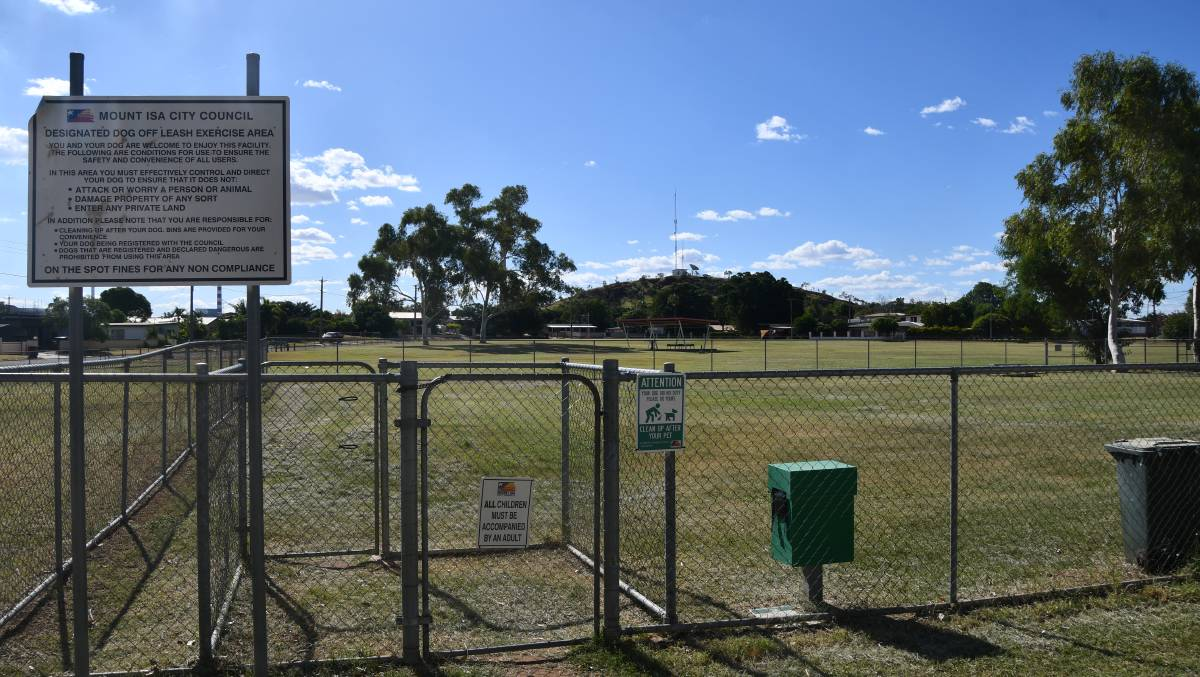 Council has closed its two dog parks including at Norm Smith Park on Transmission Street.