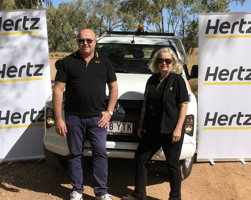 Terry and Alison Dowling of Hertz Mount Isa.