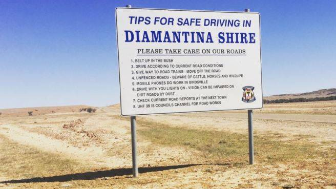 Diamantina Shire has warned visitors from travelling there this year.