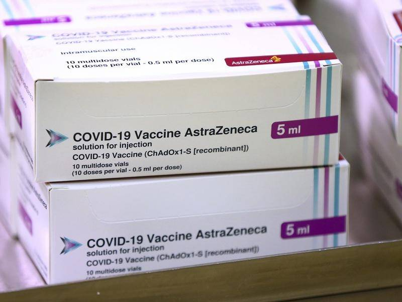 The chief medical officer is trying to ease concerns about the AstraZeneca vaccine.